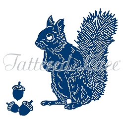 Tattered Lace - Dies - Essentials Squirrel