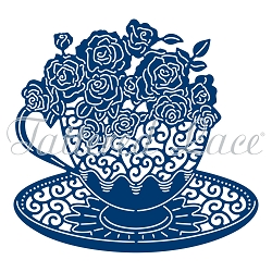 Tattered Lace - Dies - Essentials Teacup Roses
