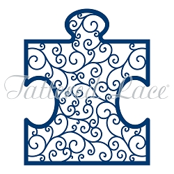 Tattered Lace - Dies - Giant Lacy Jigsaw Piece (requires large format die cut machine)
