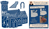 Tattered Lace - Dies - Essentials Charisma Summer Village Church + CD ROM