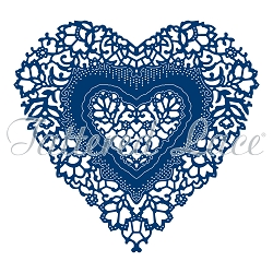 Tattered Lace - Dies - Ornamental Antique Lace Heart
