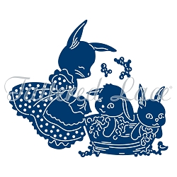 Tattered Lace - Dies - Bunny Bathtime