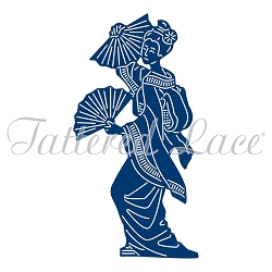 Tattered Lace - Dies - Japanese Lady Mai