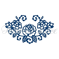 Tattered Lace - Dies - Rose Embellishment