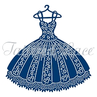 Tattered Lace - Dies - Pleated Dress