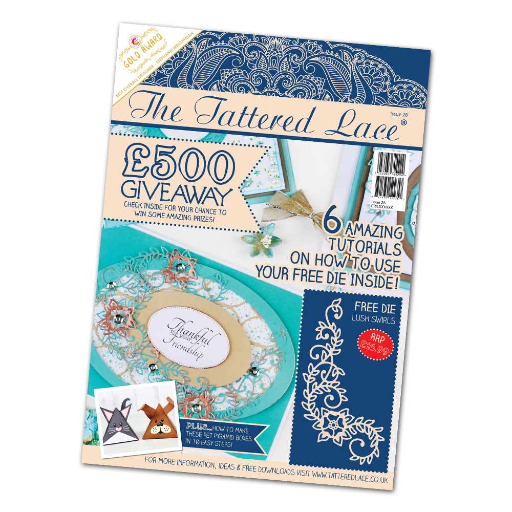 Tattered Lace - Magazines 27 & 28 + new dies!