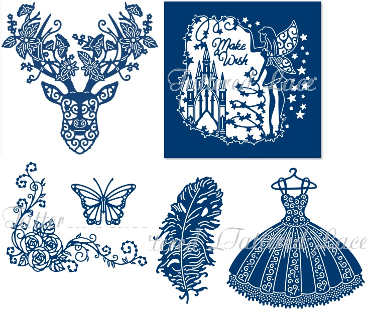 Tattered Lace - Over 50 new dies and embossing folders