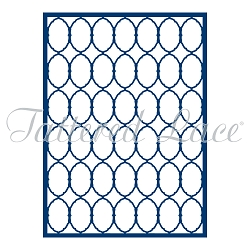 Tattered Lace - Dies - Decorative Oval Lattice Panel