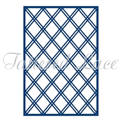 Tattered Lace - Dies - Double Lattice Panel Die