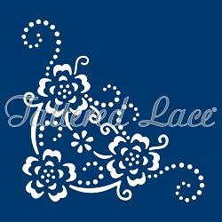 Tattered Lace - Dies - Delicate Detail Blossom Corner