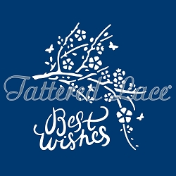 Tattered Lace - Dies - Delicate Detail Best Wishes