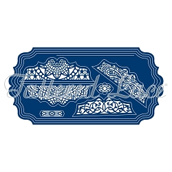 Tattered Lace - Dies - Ornamental Label Card Shapes