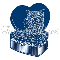 Tattered Lace - Dies - Chocolate Box Kitty