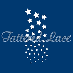 Tattered Lace - Dies - Cascading Stars