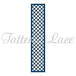 Tattered Lace - Dies - Love Is In The Air Lattice Panel