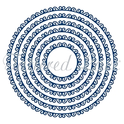 Tattered Lace - Dies - Swirl Edge Circles