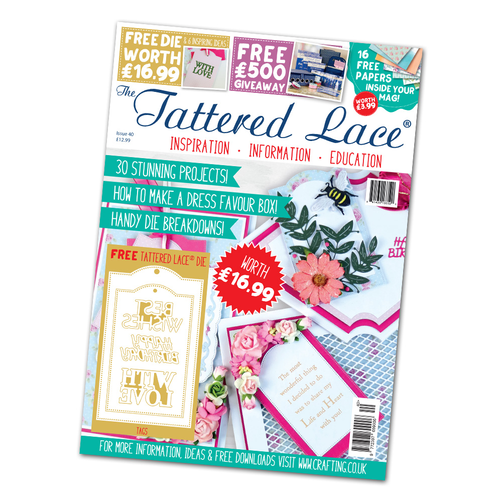 Tattered Lace - Magazines 40 + more dies