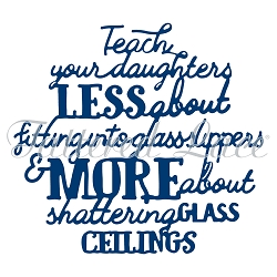 Tattered Lace - Dies - Teach Your Daughters