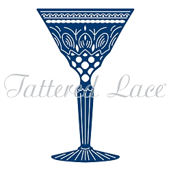 Tattered Lace - Dies - Art Deco Classic Cocktail Glass