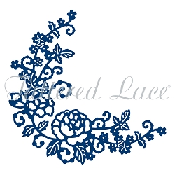 Tattered Lace - Dies - Delicate Rose Corner