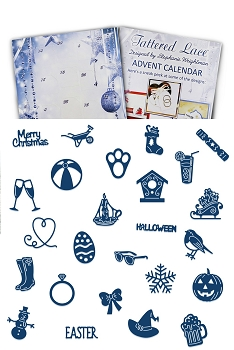 Tattered Lace - Dies - Advent Calender 2016 (with 25 dies)