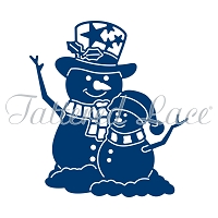 Tattered Lace - Dies - Essentials Snowman Hugs