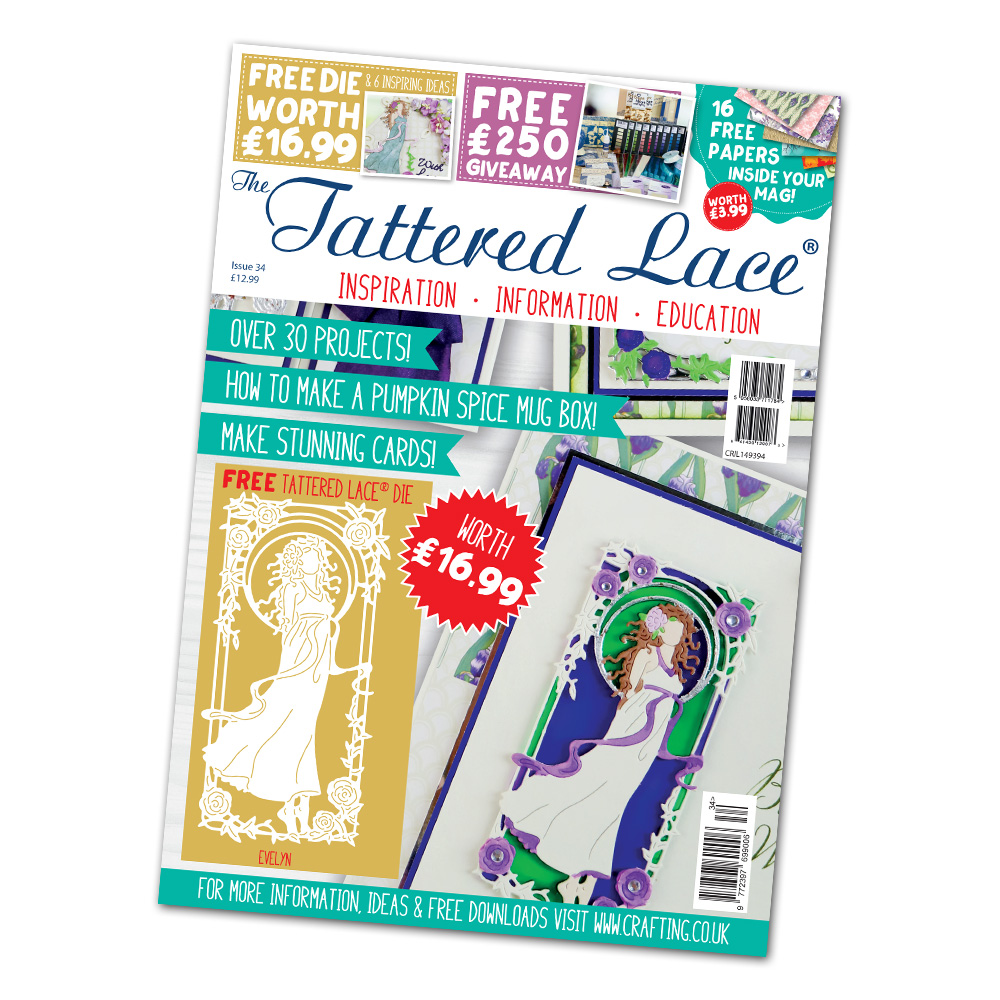 Tattered Lace - Magazines 34 + new dies!