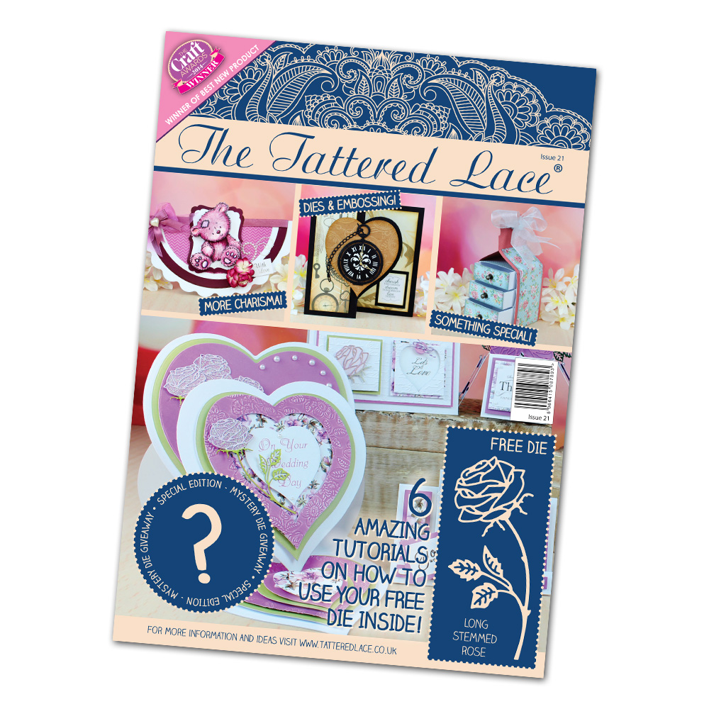 Tattered Lace - 3 new magazines + Christmas dies + midi stepper card dies