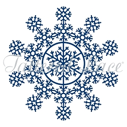 Tattered Lace - Dies - Snowflakes Glistening