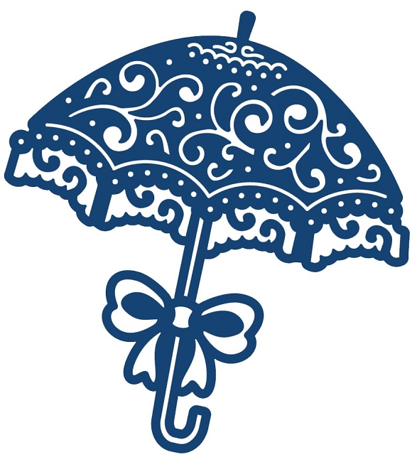 . Tattered Lace   Dies   Parasol