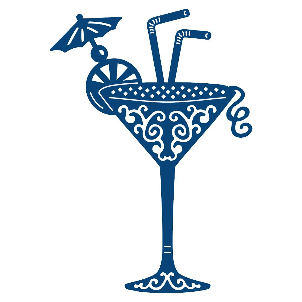 Resultado de imagem para cocktail on a glass