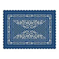 Tattered Lace - Dies - Haddon Scallop Rectangle