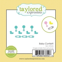 Taylored Expressions - Cutting Die - Little Bits Baby Confetti