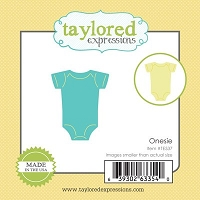 Taylored Expressions - Cutting Die - Little Bits Baby Onesie