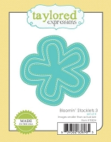 Taylored Expressions - Cutting Die - Bloomin' Stacklets 3
