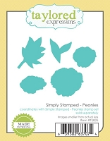 Taylored Expressions - Cutting Die - Simply Stamped Peonies