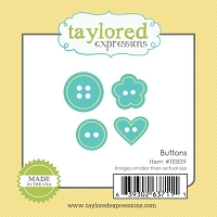 Taylored Expressions - Cutting Die - Little Bits Buttons