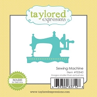 Taylored Expressions - Cutting Die - Little Bits Sewing Machine