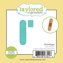 Taylored Expressions - Cutting Die - Little Bits Bandage