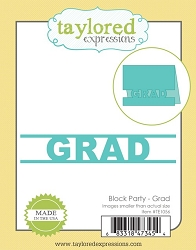 Taylored Expressions - Cutting Die - Block Party GRAD