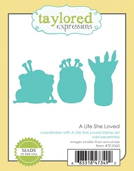 Taylored Expressions - Cutting Die - A Life She Loved