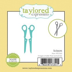 Taylored Expressions - Cutting Die - Little Bits Scissors