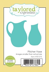 Taylored Expressions - Cutting Die - Pitcher Vase