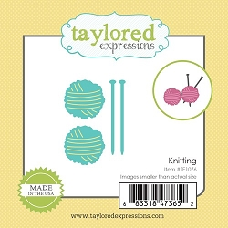 Taylored Expressions - Cutting Die - Little Bits Knitting