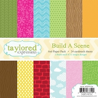 Taylored Expressions - 6x6 Paper Pad - Build A Scene
