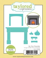 Taylored Expressions - Cutting Die - By the Fireside