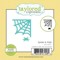 Taylored Expressions - Cutting Die - Little Bits Spider & Web