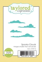 Taylored Expressions - Cutting Die - Little Bits Spooky Clouds