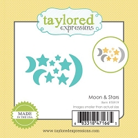Taylored Expressions - Cutting Die - Little Bits Moon & Stars