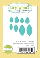 Taylored Expressions - Cutting Die - On A Limb Leaves